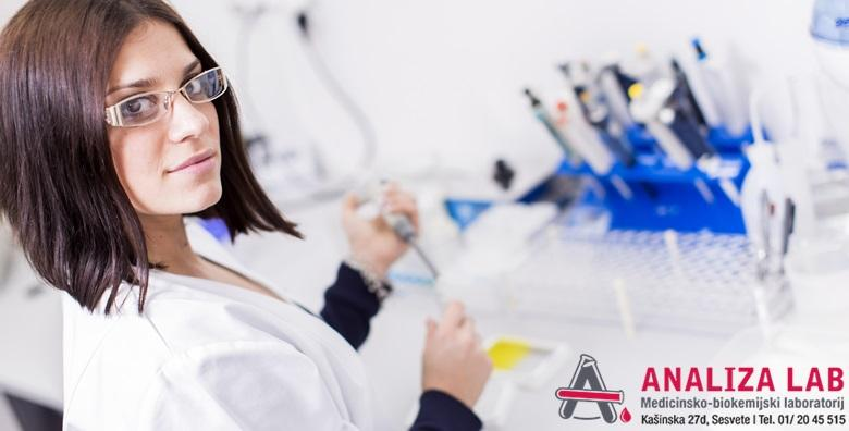 Laboratorijska analiza hormona štitnjače TSH uz T3, T4 za 90 kn!