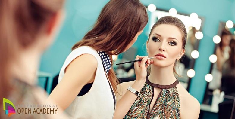 Online tečaj šminkanja - kroz 14 modula savladajte konturiranje, pravilan odabir boja, oblikovanje obrva i apliciranje umjetnih trepavica za 35 kn!