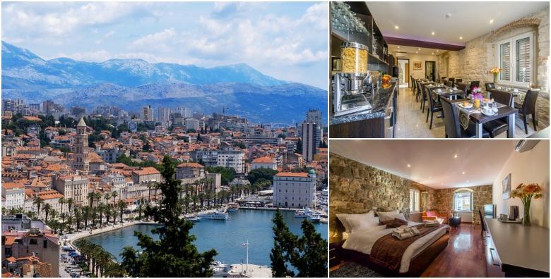 Split, hotel baština - 2 ili 3 noćenja s doručkom od 869 kn!