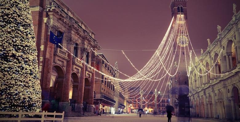 [ADVENT U VICENZI] Spoj nevjerojatne arhitekture i božićnih svjetala stvara magičnu atmosferu koju morate doživjeti - izlet s prijevozom za 269 kn!