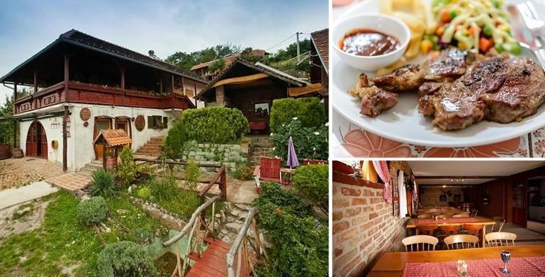 Guštajte u domaćem, tradicionalnom ručku u 3 slijeda u Eko Gradunje! Glavno jelo, salata, juha i desert za samo 69 kn!