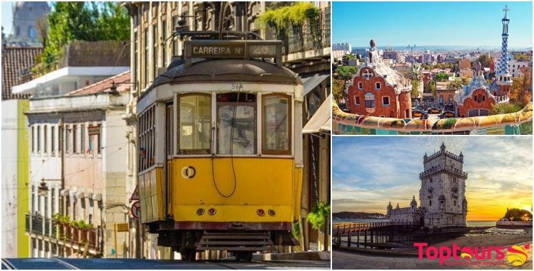 LAST MINUTE Portugal, Španjolska i Francuska! Velika mediteranska tura za putoholičare s malo vremena - 9 dana s doručkom i prijevozom za 4.290 kn!