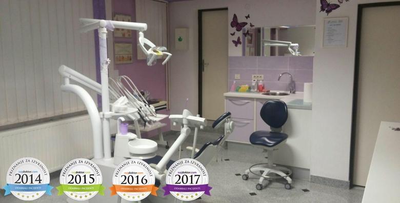Čišćenje kamenca, poliranje, pjeskarenje, premazivanje Tooth Mousse pastom, pregled i edukacija o oralnoj higijeni u Ordinaciji Profident za 99 kn!