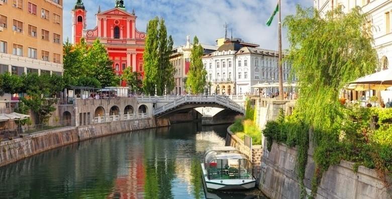 Ljubljana i Škocjanske jame - istražite preslatku slovensku metropolu i jedan od najvećih podzemnih kanjona za 135 kn!