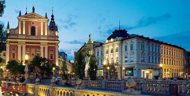 Ljubljana**** - 1 ili 2 noćenja s doručkom za dvoje od 412 kn!