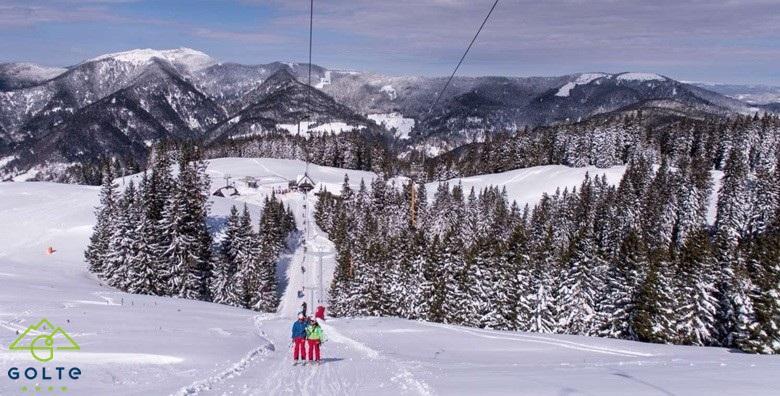 [HOTEL GOLTE****] Budite prvi na skijaškim stazama Goltea! Otvorite sezonu uz 2 noćenja s polupansionom za dvoje i korištenje wellnessa za 1.778 kn!