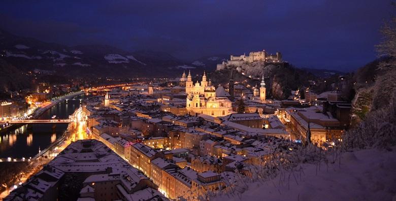 Advent u Salzburgu - jednodnevni izlet s prijevozom za 270 kn!