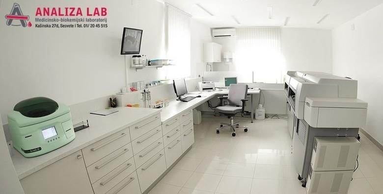 Otkrijte tumor na vrijeme! Napravite tumorske markere za žene ili muškarce u Poliklinici Analiza Lab - bez najave uz nalaze gotove isti dan za 179 kn!