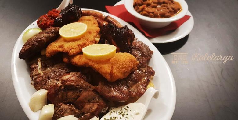 [GRILL PLATA] Više vrsta sočnog mesa s roštilja uz zapečeni grah i pomfrit! Gozba za dvoje u izvedbi restorana Kalelarga za samo 89 kn!