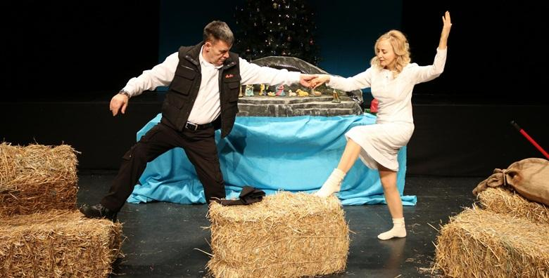 Predstava Gastarbajterski Božić - 16.11. ili 1.12. u Histrionskom domu pogledajte komediju o dramatičnoj ljubavi između Marije i Joze za samo 38 kn!