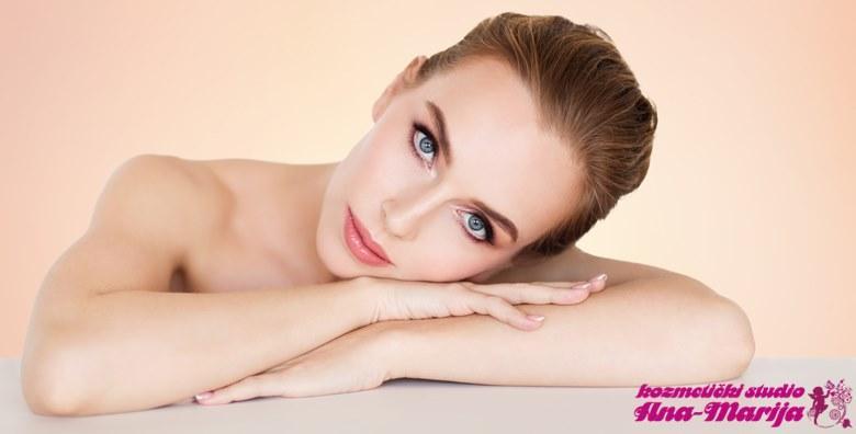 Čišćenje lica uz ampulu hijalurona i UZV