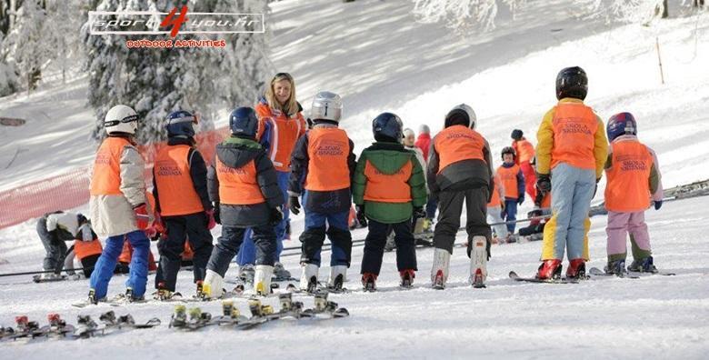 Škola skijanja na Sljemenu za djecu i odrasle - EKSKLUZIVNO za 449 kn!