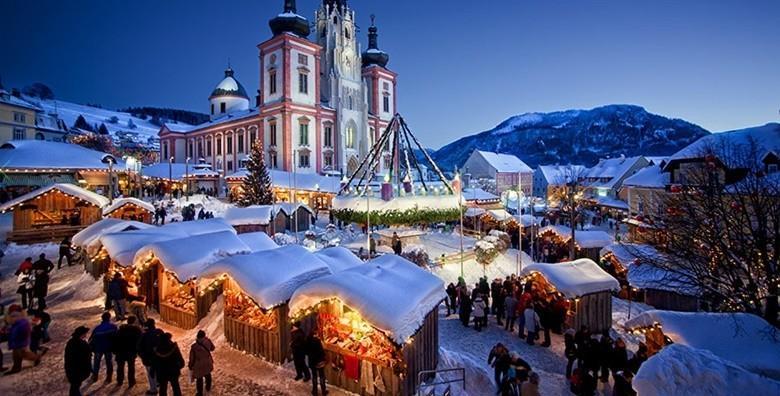 Advent u Mariazellu i Leobenu - izlet s prijevozom za 189 ln!