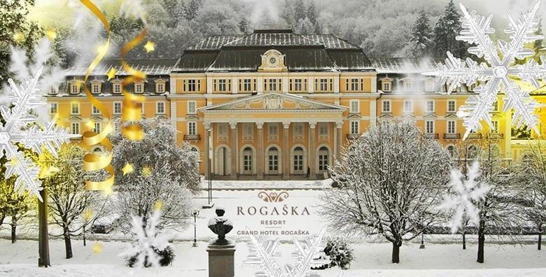 Rogaška Resort**** - 2 noćenja s polupansionom za dvoje za 1.419 kn!