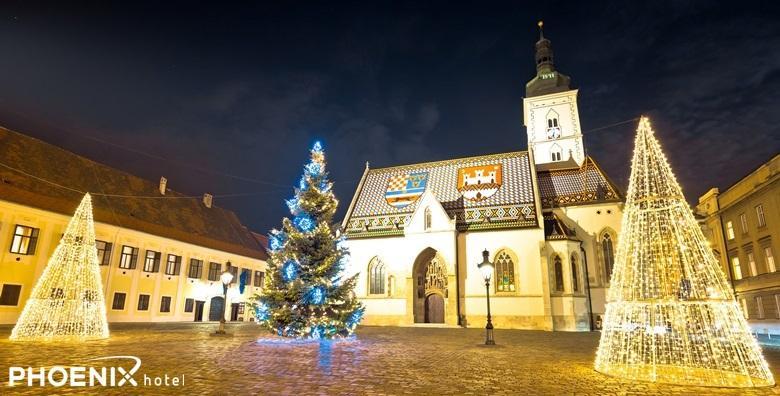 Advent u Zagrebu i romantični trenuci u Hotelu Phoenix**** - 1 ili 2 noćenja s doručkom i večerom uz korištenje saune, bazena i relax zone od 740 kn!