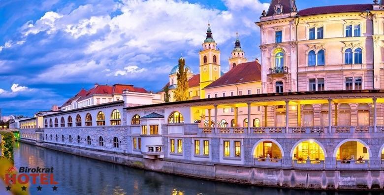 Advent u Ljubljani- 2 noćenja s doručkom za dvoje za 1.650 kn!
