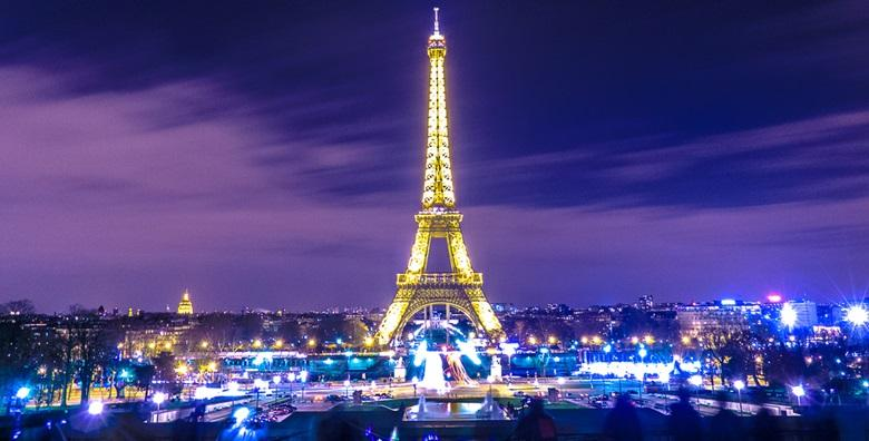 Pariz*** - 2 ili 3 noćenja s doručkom u hotelu na rijeci Seini od 1.034 kn!