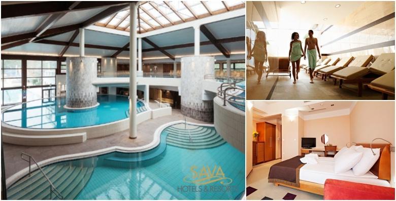 [MORAVSKE TOPLICE] Terme 3000 - 1 noćenje s polupansionom za dvoje u Hotelu Livada Prestige***** uz kupanje u termama i bazenima hotela od 916 kn!