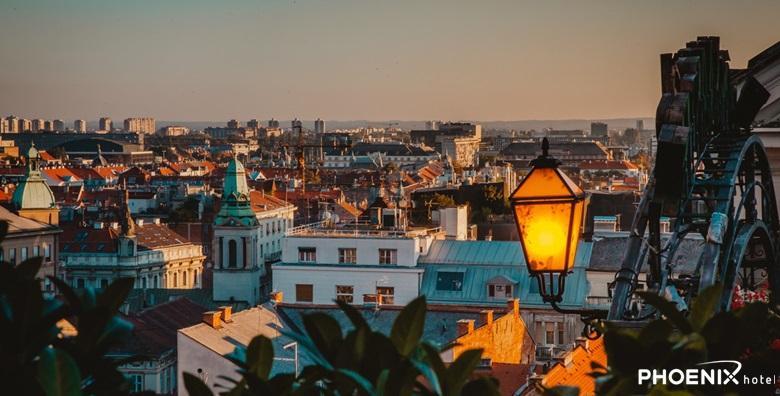 Zagreb - 1 noćenje s polupansionom za dvoje u Hotelu Phoenix**** za 698 kn!