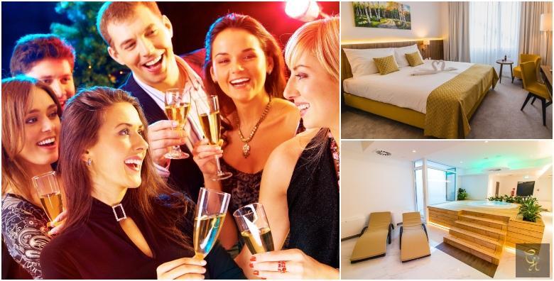 Nova godina u Hotelu Garden Hill**** - 2 noćenja s doručkom za dvoje uz korištenje saune, whirlpoola i relax zone za 1.470 kn!