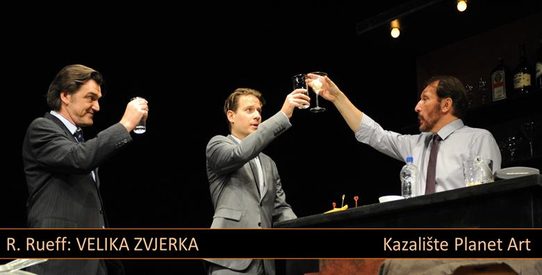 Predstava Velika zvjerka 15.12. u kazalištu Mala scena za samo 50 kn!