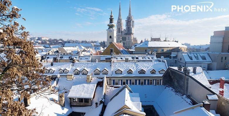 Advent u Zagrebu - 1 noćenje s doručkom u Hotelu Phoenix**** za 680 kn!