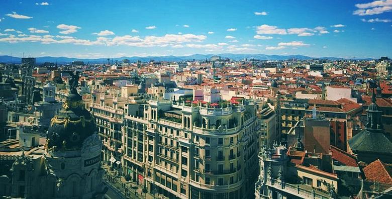 Madrid - 2 ili 3 noćenja s doručkom u hotelu**** u centru grada od 1.758 kn!