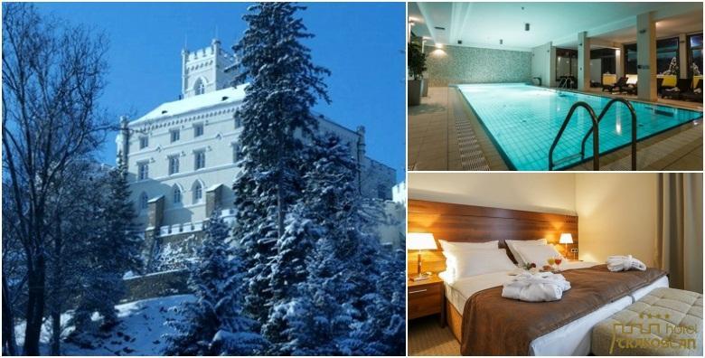 Bajkovita zima u Hotelu Trakošćan**** - 1 ili 2 noćenja s polupansionom za dvoje uz korištenje wellnessa tik do prekrasnog dvorca od 649 kn!