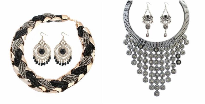 Set ogrlica i naušnice - poklonite sebi ili dragoj osobi nakit inspiriran tradicijom i prirodom uz uključenu dostavu za cijelu Hrvatsku za samo 79 kn!