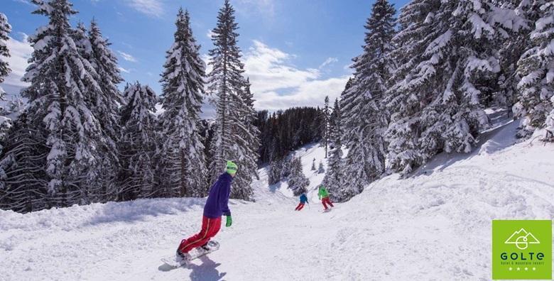 [HOTEL GOLTE****] Zimske radosti za cijelu obitelj na čak 1.410 m nadmorske visine! 4 ili 6 noćenja u novouređenom apartmanu za 5 osoba od 3.249 kn!