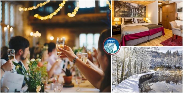Nova godina na Plitvicama - 1 noćenje uz svečanu večeru za dvoje od 1.340 kn!