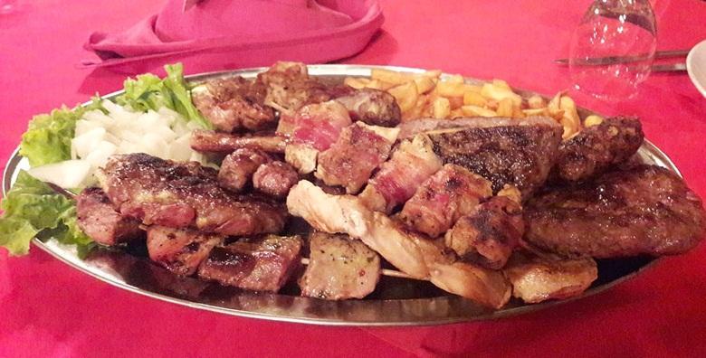 Leskovački roštilj - bogata plata za 4 osobe za 159 kn!