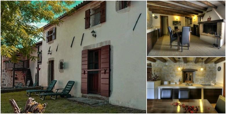 Istra*** - najam luksuzne kamene kuće za 2 - 4 osobe od 940 kn!