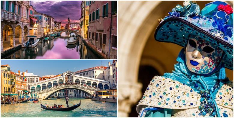 Karneval u Veneciji, cjelodnevni izlet za 210 kn!