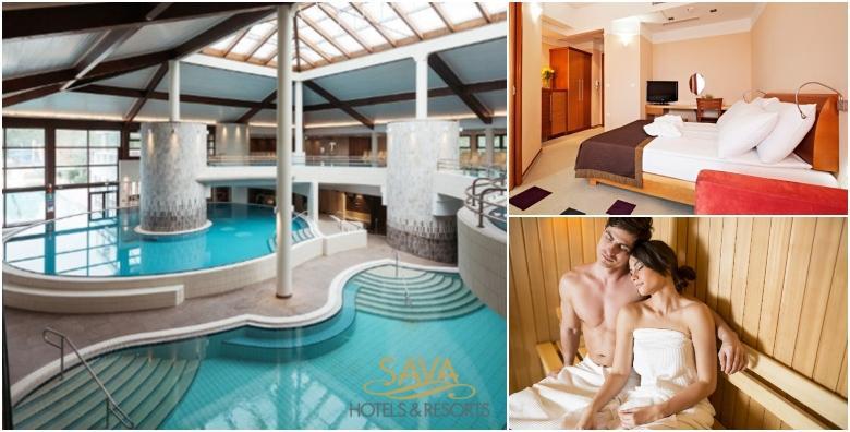 [MORAVSKE TOPLICE] Wellness uživancija za dvoje - 2 noćenja s polupansionom uz kupanje u termama i bazenima Hotela Livada Prestige***** za 1.802 kn!