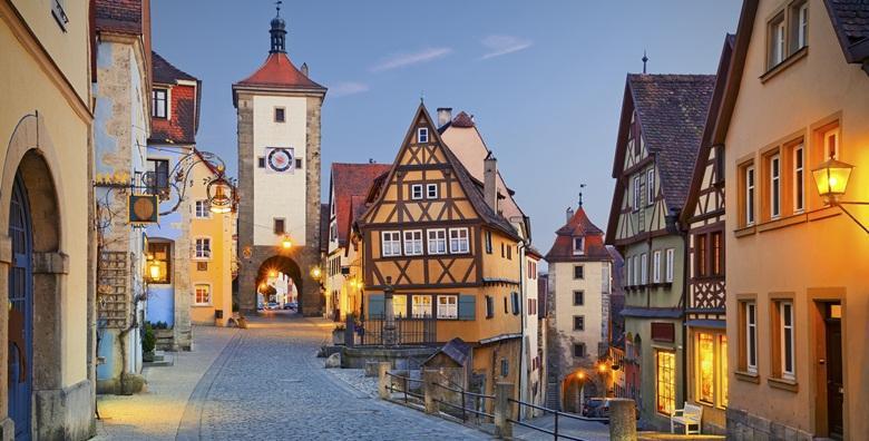 Bavarska*** - Regensburg, Rothenburg, Nürnberg i Passau za 1.190 kn!