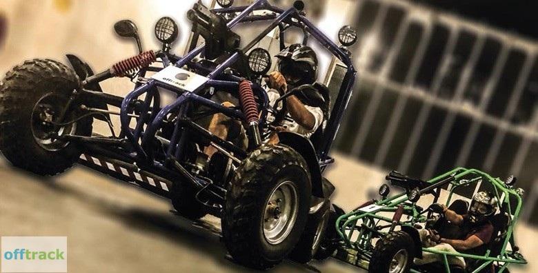 Adrenalinska buggy vožnja i laser tag u jednom već od 50 kn!