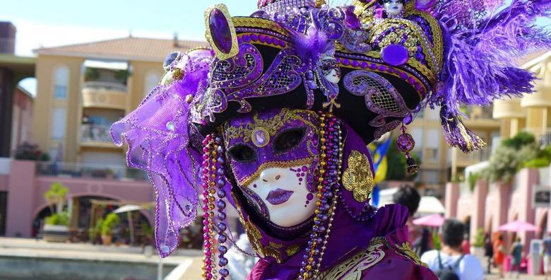[KARNEVAL U VENECIJI] Pobjegnite od stvarnosti i uronite u svijet prekrasnih maski i običaja! Budite dio najraskošnijeg karnevala za 169 kn!