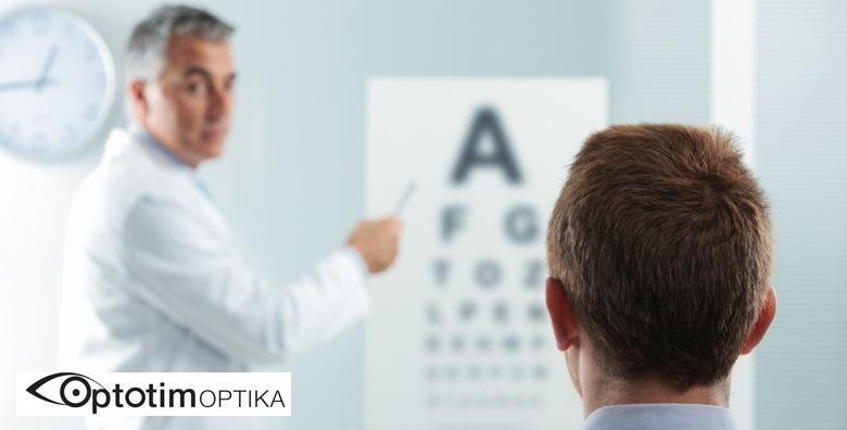 [POLIKLINIKA OPTOTIM] Specijalistički pregled za meke kontaktne leće uz 30% popusta na leće s otopinom i 50% popusta na kompletne dioptrijske naočale