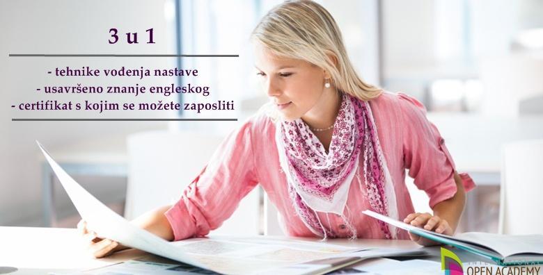 [TESOL CERTIFIKAT] Steknite svjetski priznati certifikat s kojim možete predavati engleski diljem svijeta - online tečaj u trajanju 120 h za 35 kn!