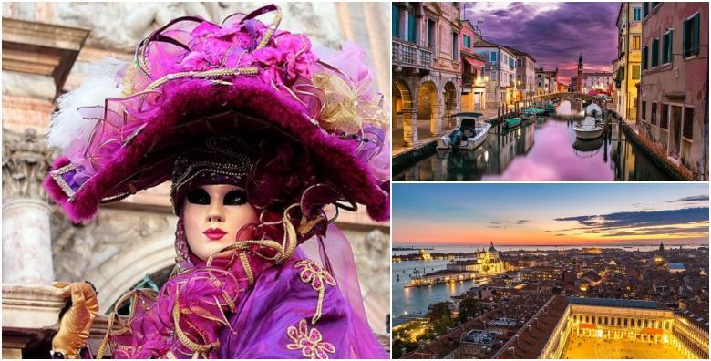 Karneval u Veneciji - izlet s prijevozom za 199 kn!