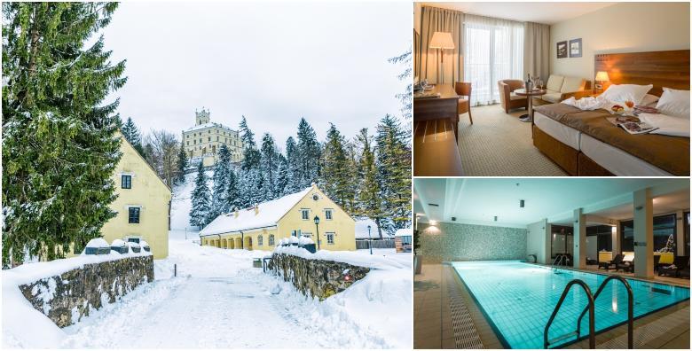 Bajkovita zima u Hotelu Trakošćan**** - 1 ili 2 noćenja s polupansionom za dvoje uz korištenje wellnessa tik do prekrasnog dvorca od 699 kn!