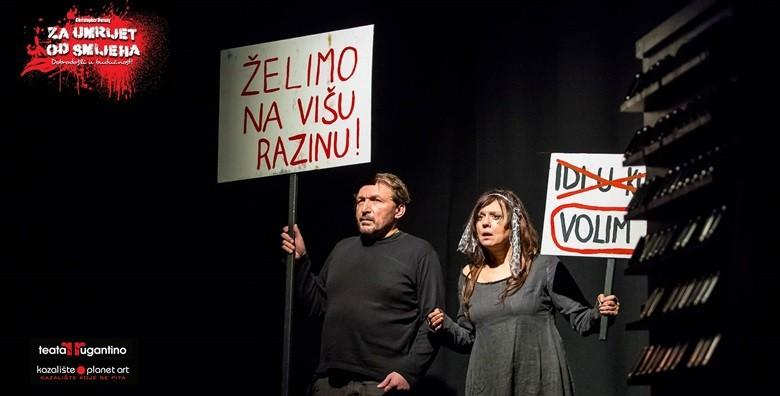 Predstava Za umrijet od smijeha u Lisinskom za samo 50 kn!