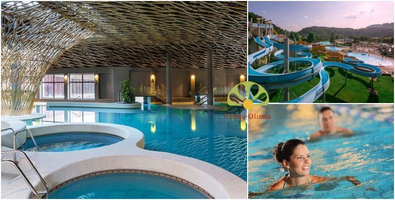 Terme Olimia, apartmani**** - smještaj za 2 do 5 osoba s kupanjem od 1.063 kn!