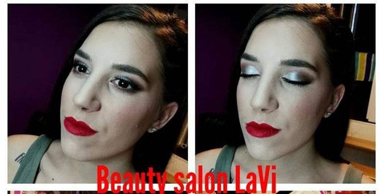 Profesionalno šminkanje s umjetnim trepavicama i korekcijom obrva za 139 kn!