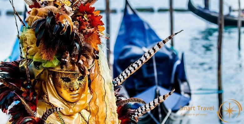 [KARNEVAL U VENECIJI] Doživite šarenilo i raskoš najpoznatijeg europskog karnevala uz posjet šarmantnom Torcellu, Muranu i Buranu za 479 kn!