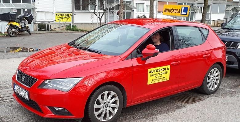 [AUTOŠKOLA] Osposobljavanje za vozača B kategorije uz 35 sati vožnje i 30 sati predavanja - vozački po super cijeni za 4.995 kn!