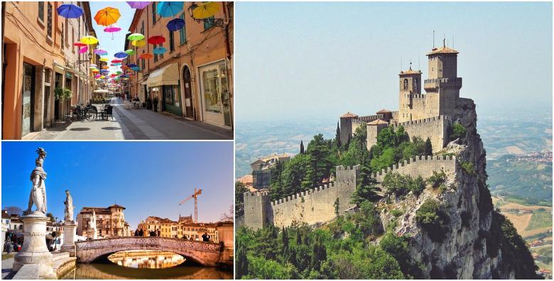 San Marino, Ravenna, Padova i Rimini*** - 1 noćenje s doručkom i prijevozom za 590 kn!