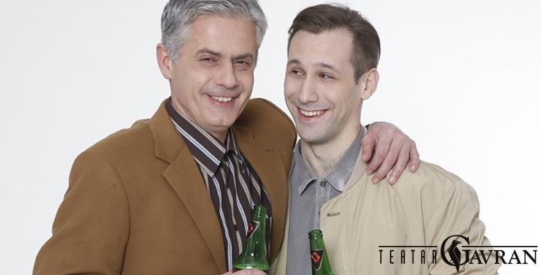 POPUST: 44% - Predstava Pivo 23.2. u Lisinskom - zabavna komedija o odnosu oca i sina tijekom šezdeset godina u izvedbi Zlatka Ožbolta i Jakova Gavrana za 39 kn! (Koncertna dvorana Vatroslav Lisinski)