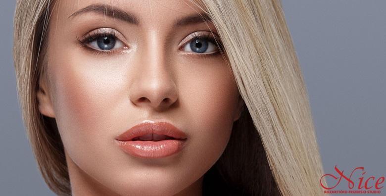 MEGA POPUST: 72% - 4 RADIOFREKVENCIJE LICA Primijetili ste pojavu opuštene kože i prvih bora? Zategnite i učvrstite kožu neinvazivnim tretmanom uz serum hijalurona i kolagena! (Studio Nice)